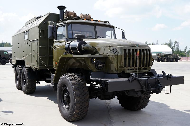 Мастерская ремонтно-слесарная по ремонту бронетанковой техники МРС-БТ (MRS-BT armored vehicles maintenance and repair workshop)