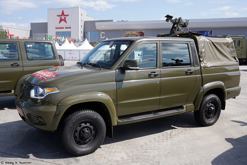 УАЗ-23632-148-64 Пикап (UAZ-23632-148-64 Pickup with weapons mounts)
