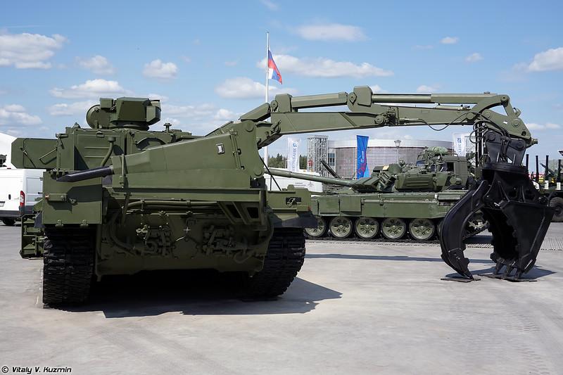 Универсальная бронированная инженерная машина УБИМ (UBIM multifunctional combat engineering vehicle)