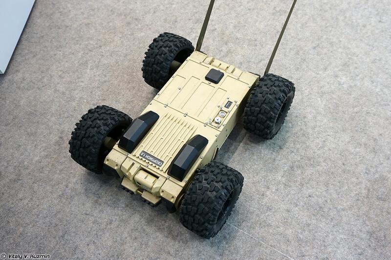 Робототехнический комплекс Скорпион (Skorpion UGV)