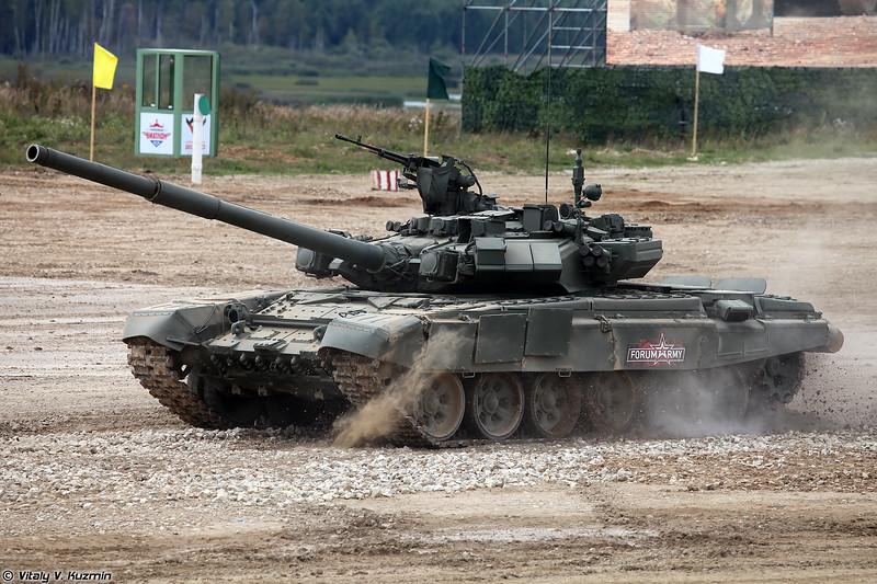 Танк Т-90А (T-90A tank)