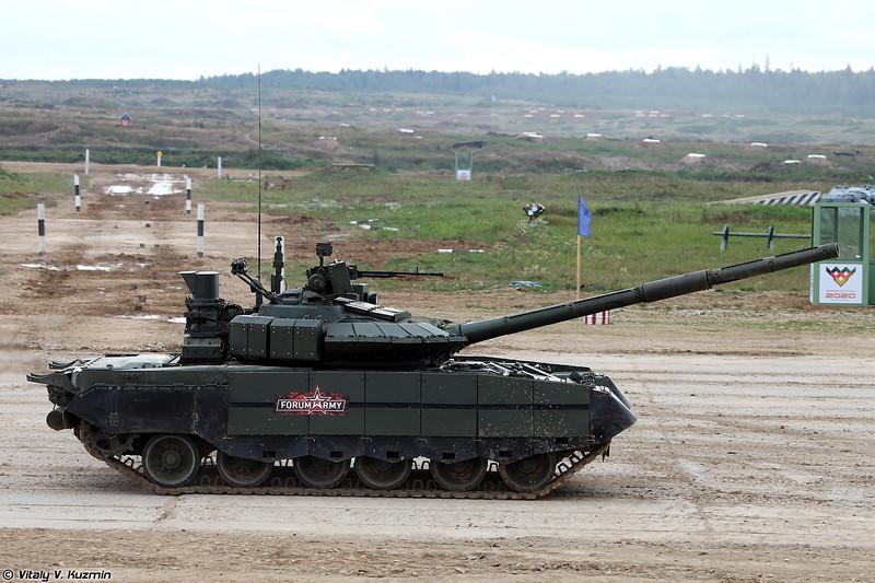 Танк Т-80БВМ (T-80BVM tank)