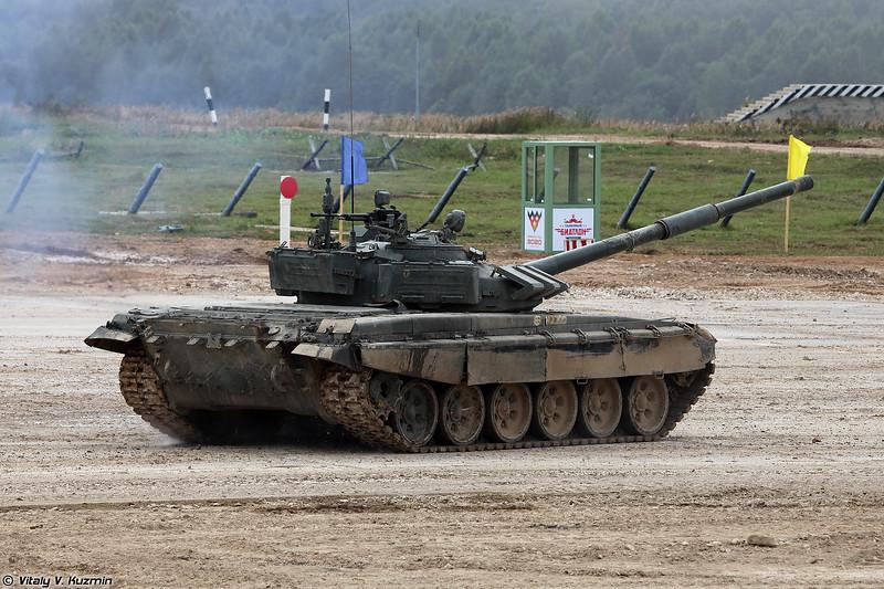 Танк Т-72Б3 (T-72B3 tank)