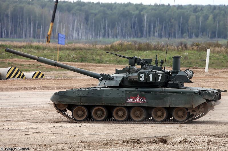 Танк Т-80УЕ-1 (T-80UE-1 tank)