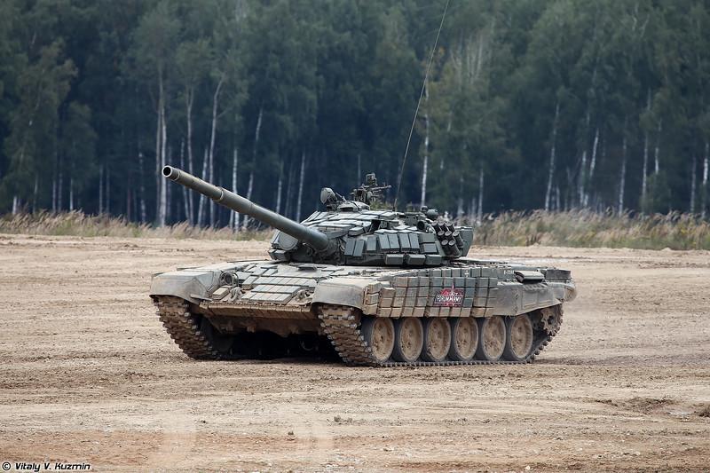 Танк Т-72Б1 (T-72B1 tank)