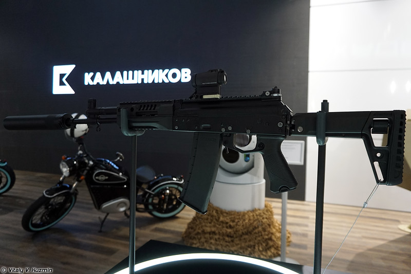 5,56х45 мм автомат АК-19 (5.56x45mm AK-19 assault rifle)