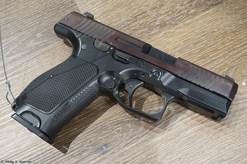 9х19 мм пистолет ПЛК (9x19mm PLK pistol)