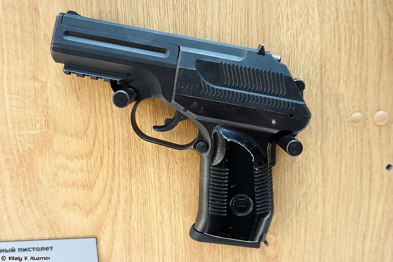 7,62х45 мм бесшумный пистолет ПСС-2 (7,62x45mm PSS-2 silent pistol)