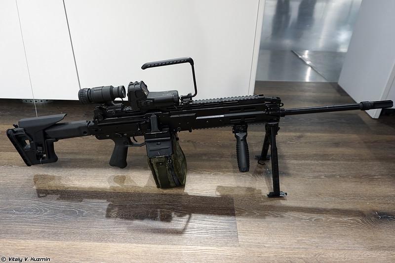 5,45х39 мм ручной пулемет РПЛ-20 (5.45x39mm RPL-20 machine gun)