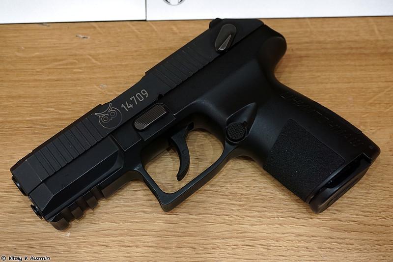 9х19 мм пистолет РГ120-2 Полоз (9x19mm RG120-2 Poloz pistol)