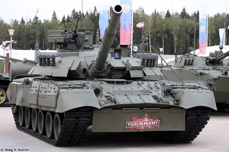 Танк Т-80УЕ-1 (T-80UE-1)