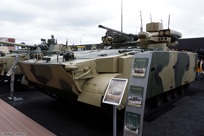 БМП-3М Манул с БМ ТКБ-947 Бумеранг-БМ (BMP-3M Manul with TKB-947 Bumerang-BM turret)