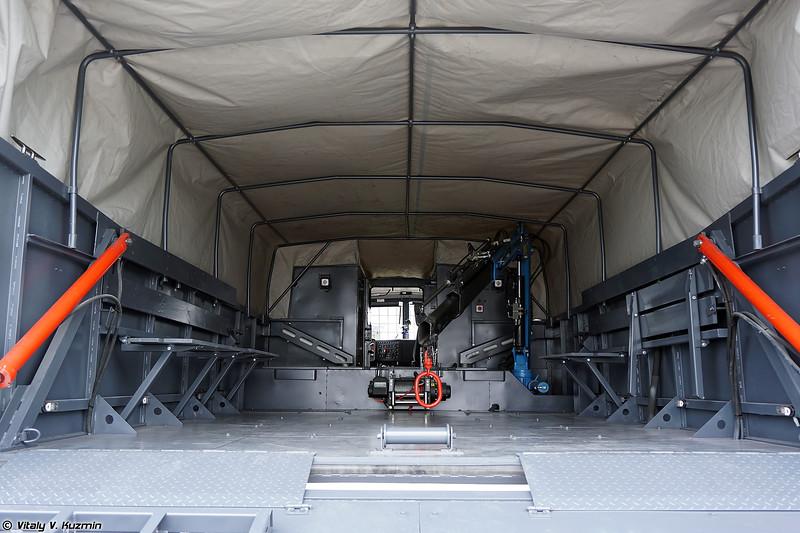 Аварийно-спасательная машина ПТС-ПС ТТМ-5908 (PTS-PS TTM-5908 rescue vehicle)