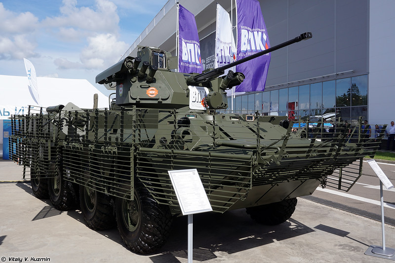БТР-82АТ с боевым модулем БТР-БМ (BTR-82AT with BTR-BM turret)
