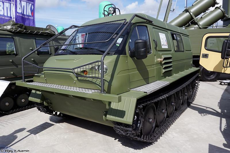 Гусеничный снегоболотоход ГАЗ-34039 Ирбис (GAZ-34039 Irbis tracked all-terrain vehicle)