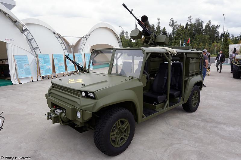 Многоцелевой аэромобильный автомобиль огневой поддержки МАА-ОП (MAA-OP tactical vehicle)