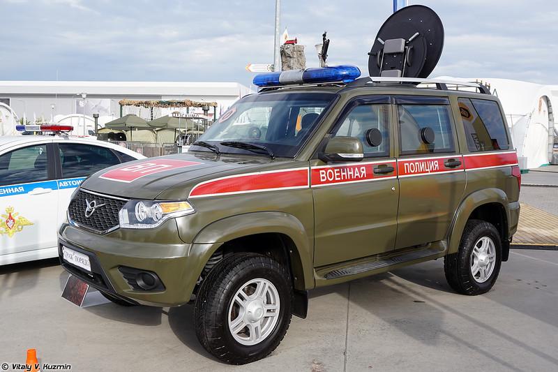 Бронеавтомобиль Есаул-394511-03 в варианте для военной полиции (Esaul-394511-03 Military police version armored vehicle)