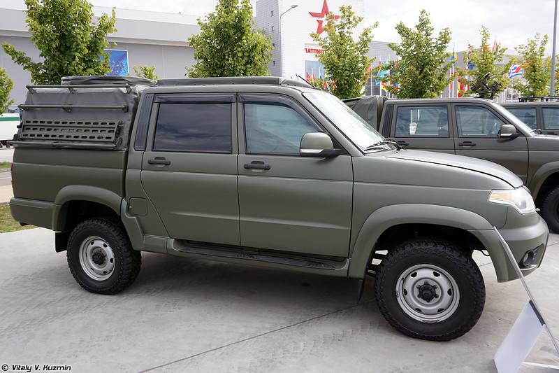 Бронеавтомобиль Есаул-39461 (Esaul-39461 armored vehicle)