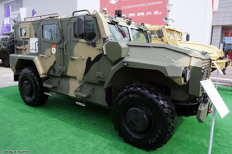 Бронеавтомобиль АМН 233121 Атлет (AMN 233121 Atlet armored vehicle)