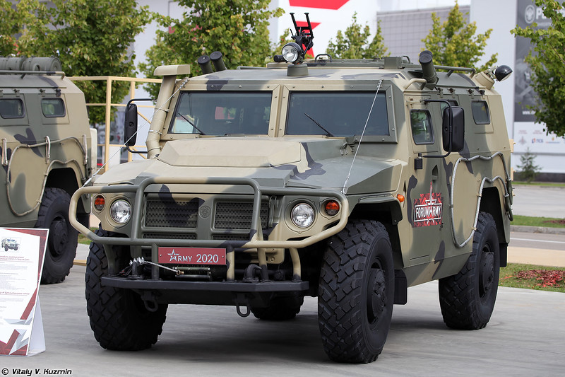 Бронеавтомобиль АСН 233115 Тигр-М СпН (ASN 233115 Tigr-M SpN armored vehicle)