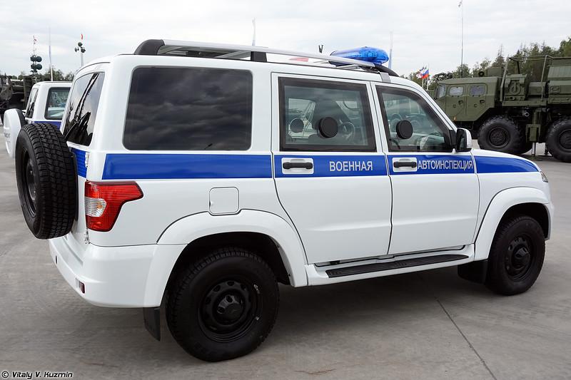 Бронеавтомобиль Есаул-394511-03 в варианте ВАИ (Esaul-394511-03 VAI version armored vehicle)