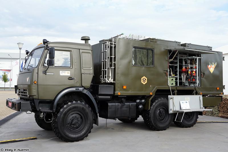 Аварийно-спасательная машина НГП1 (NGP1 rescue vehicle)