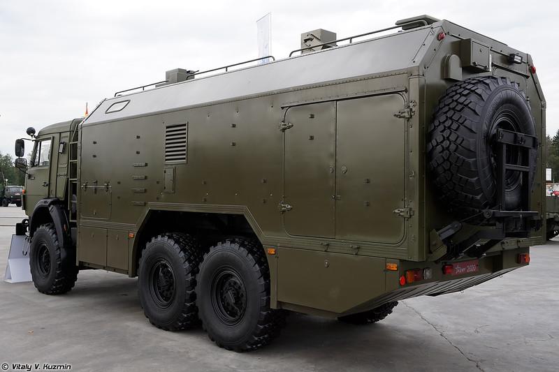Контрольно-распределительный подвижный пункт КРПП-2 (KRPP-2 mobile NBC control post)
