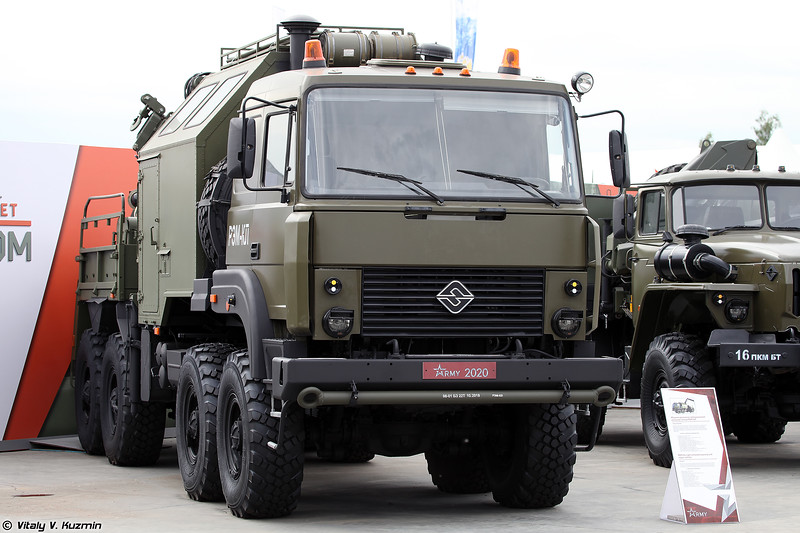 Ремонтно-эвакуационная машина РЭМ-КЛ (REM-KL recovery vehicle)