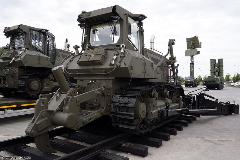 Тракторный тягач-дозировщик ТТД-3 (TTD-3 tractor)