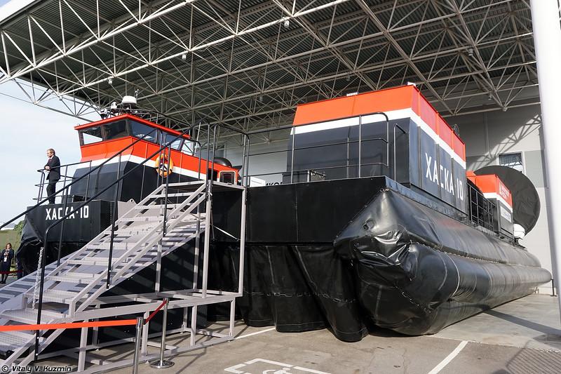 Судно на воздушной подушке Хаска-10 (Haska-10 hovercraft)