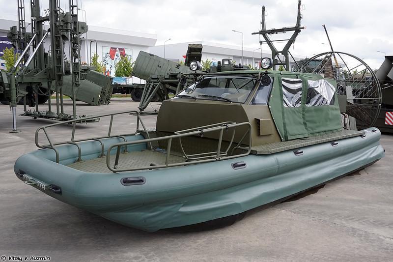 Аэролодка Пиранья-6 (Piranha-6 boat)