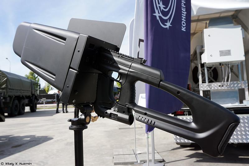 Носимыйй комплекс противодействия БПЛА Пищаль-ПРО (Pischal-PRO anti-drone gun)