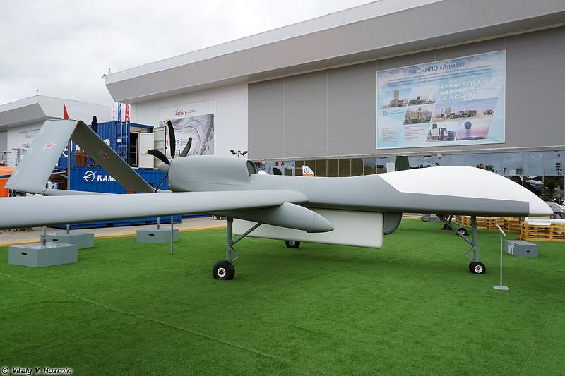 БПЛА Гелиос-РЛД (Helios-RLD UAV)