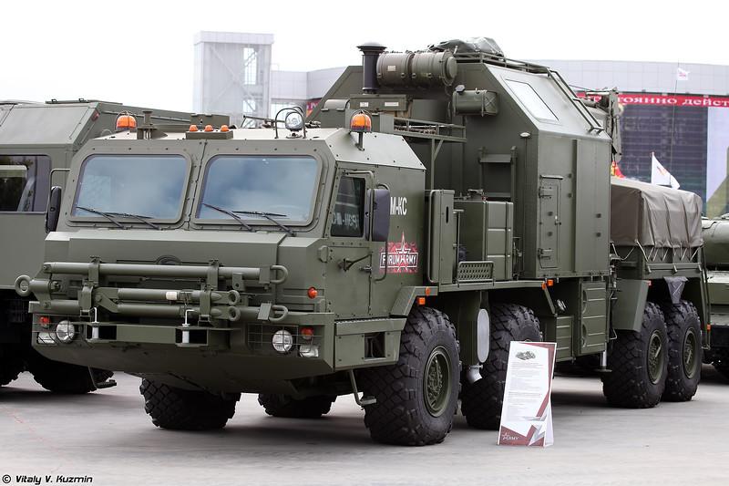 Ремонтно-эвакуационная машина РЭМ-КС (REM-KS recovery vehicle)