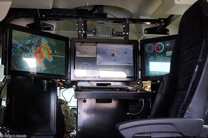 Мобильный комплекс противодействия БПЛА Рать (Rat' anti-drone system)