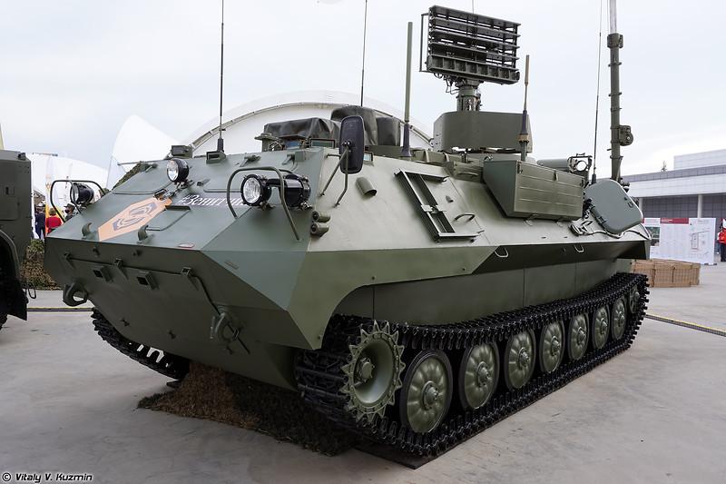 Модуль разведки и управления 9С932-1 (9S932-1 reconnaissance and command vehicle)