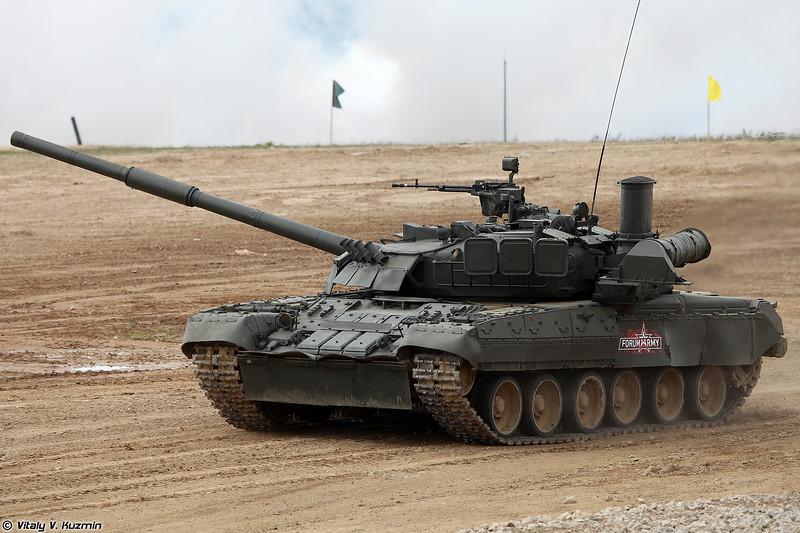 Танк Т-80У (T-80U)