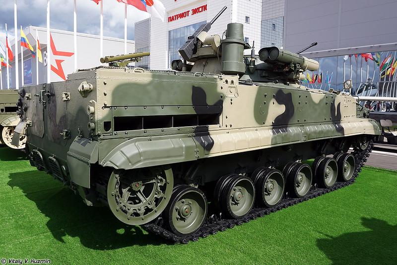 БМП-3 с комплексом вооружения Б05Я01 Бережок (BMP-3 with B05Ya01 Berezhok turret)