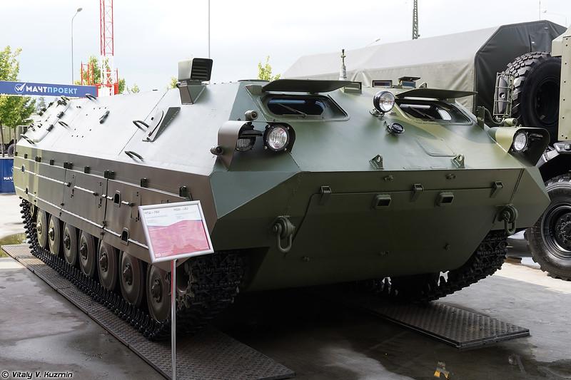 Многоцелевое гусеничное шасси МГШ-ЛБУ (MGSh-LBU chassis)