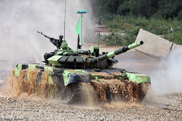 ARMYGAMES-2015 Opening ceremony and Tank biathlon