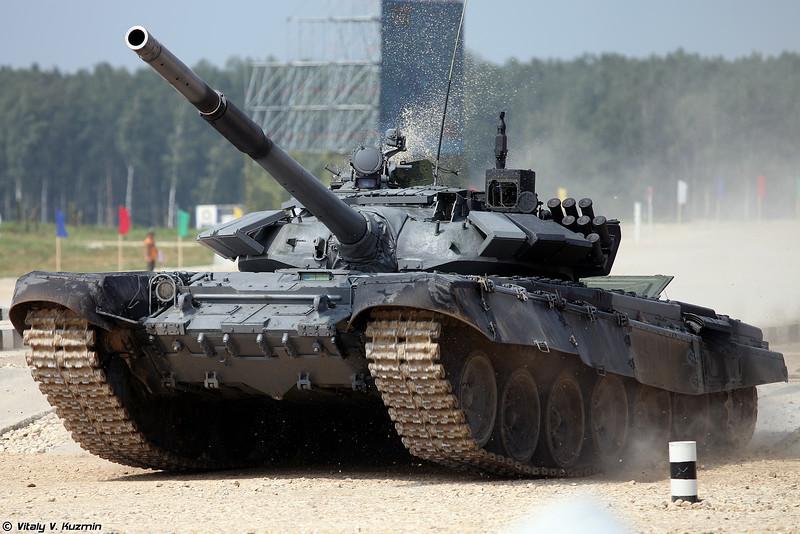 Т-72Б3 команды Индии (Team India T-72B3)