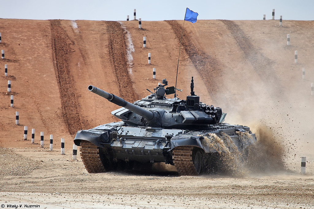 ARMYGAMES-2016 - Tank biathlon and Suvorov attack