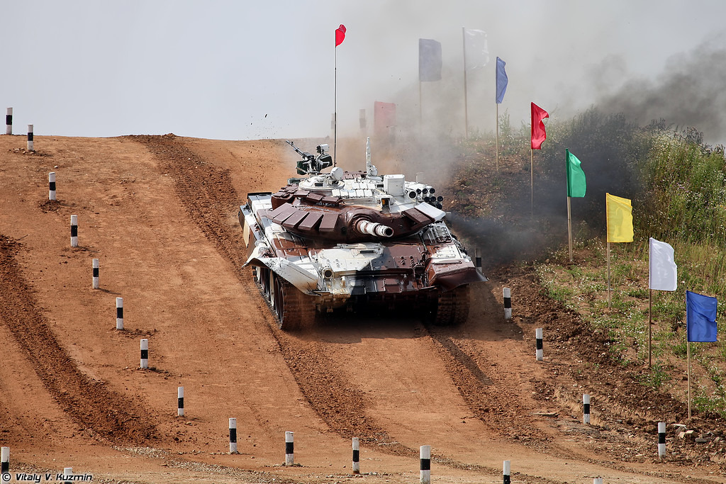 Т-72Б3 команды Казахстана (Kazakhstan team T-72B3)