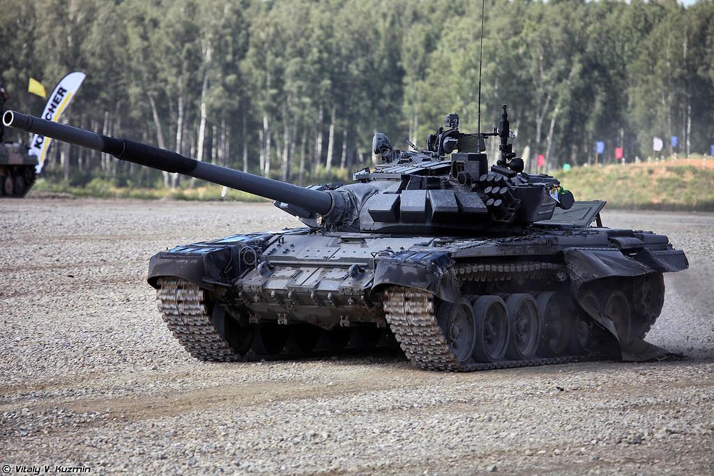 Непобежденный танк Т-72Б3 эпичной команды Зимбабве (T-72B3 Zimbabwe)