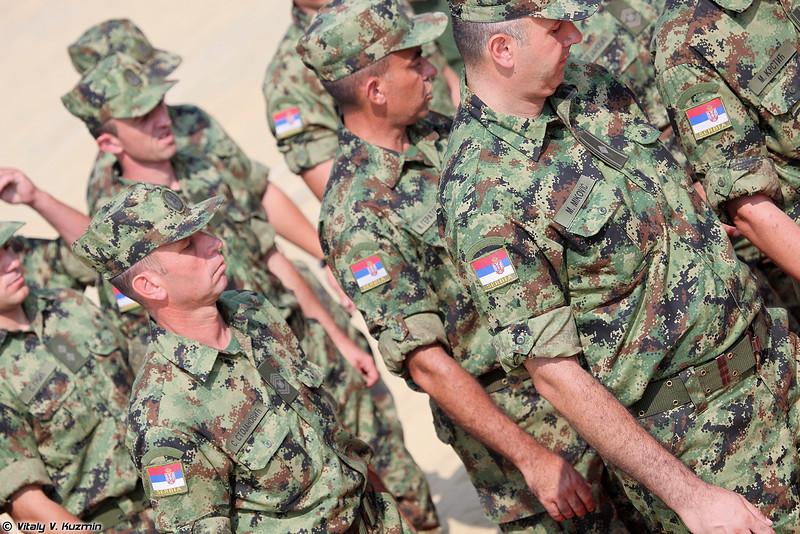 Команда Сербии (Serbian team)