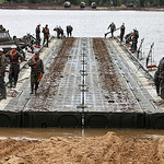 ??????????? ????? ?? ????????-????????? ????? ??? ??? ????????? ?????????? ??????? (PMP floating bridge for tank ferry ...