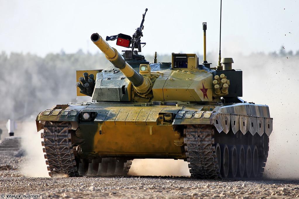 Танк Type 96B / ZTZ-96B команды Китая (Type 96B / ZTZ-96B tank of Chinese team)