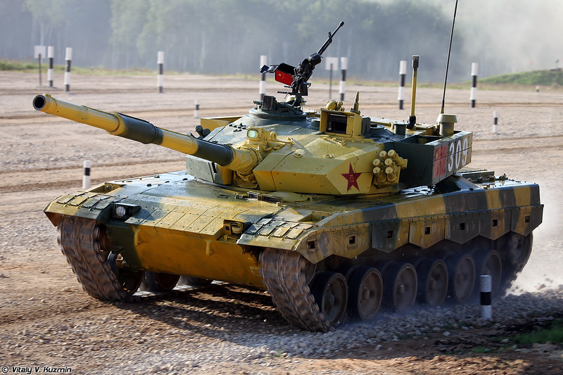 Танк Type 96B / ZTZ-96B команды Китая (Type 96B / ZTZ-96B tank of Chinese team)