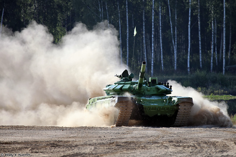 ARMYGAMES-2017 - The Final of Tank biathlon competition