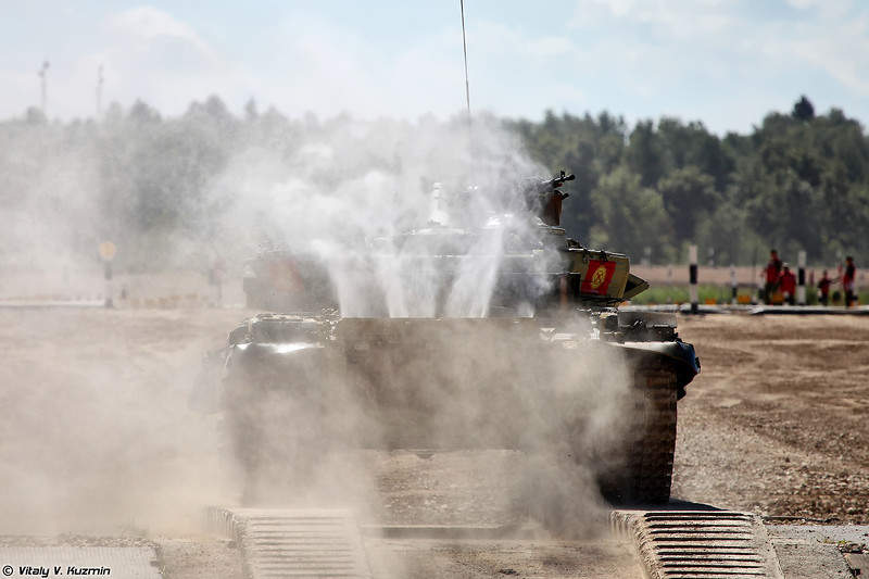 Танк Т-72Б3 команды Киргизии (T-72B3 Kyrgyzstan)